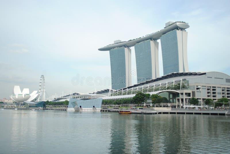 Marina bay sands stock photos