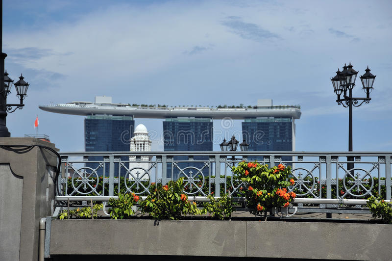 Marina Bay Sands In Singapore. Stock Photography