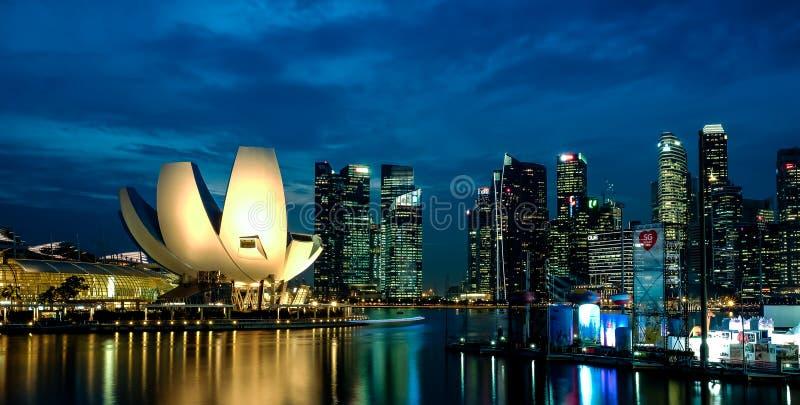 Marina Bay Sands, Singapore stock photos