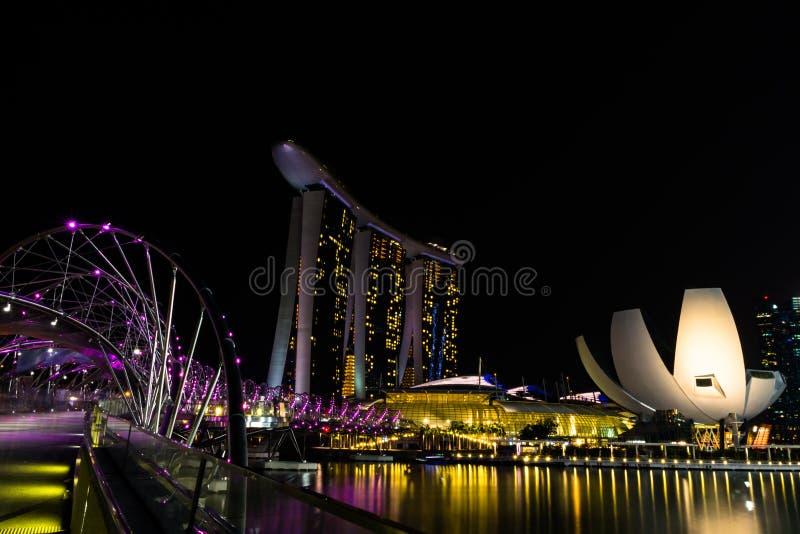 Marina Bay Sands Singapore royalty free stock photography