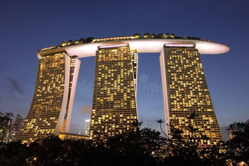 Marina Bay Sands, Singapore stock photography