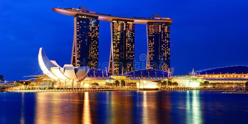Marina Bay Sands, Singapore. royalty free stock photos