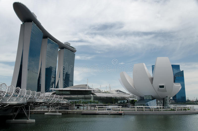 Download Marina Bay Sands And Waterfront, Singapore Stock Photo - Image: 18953336