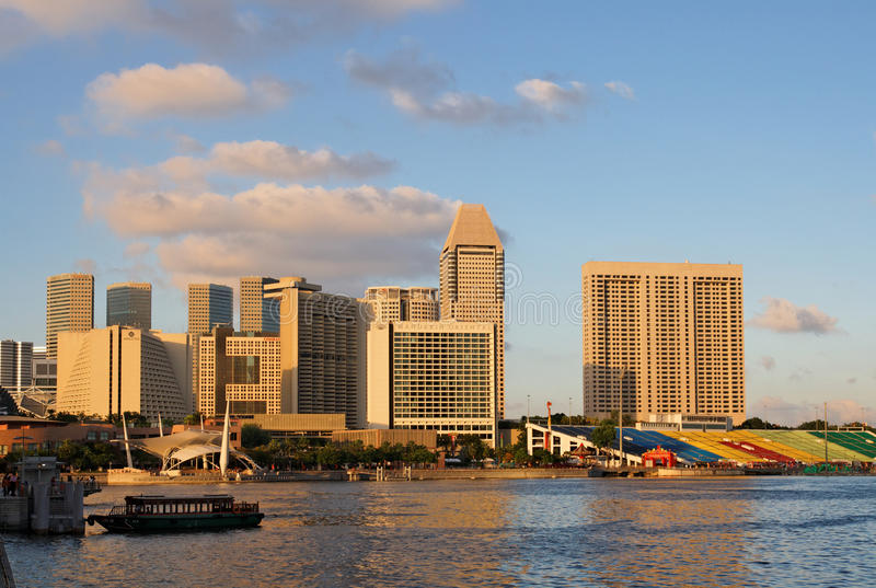 Download Marina bay of Singapore editorial stock photo. Image of afternoon - 14081468