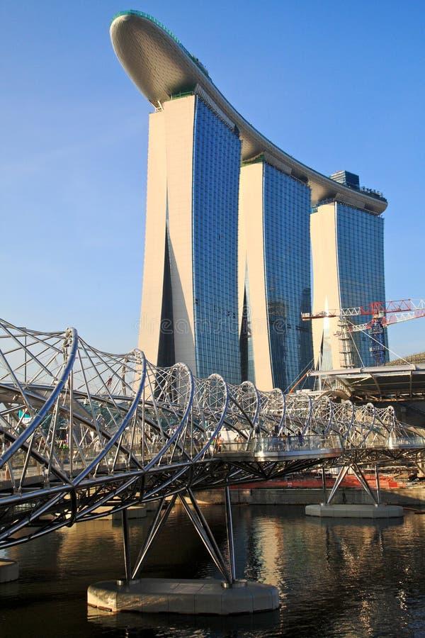 Marina Bay,Singapore stock photos