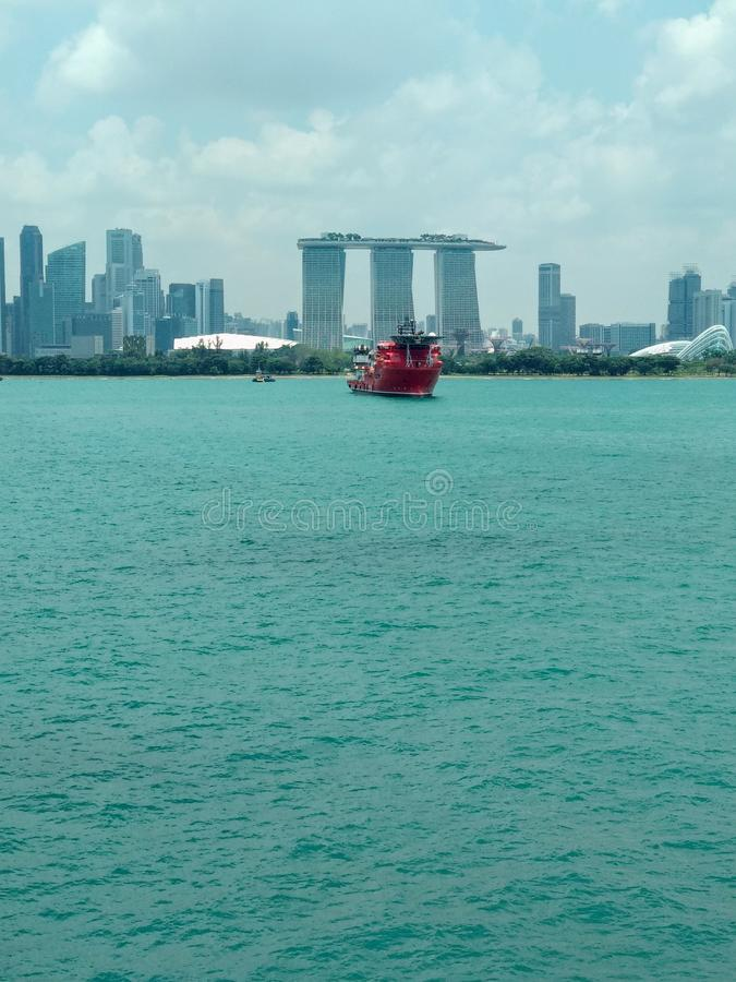 Marina bay singapore picture royalty free stock photos