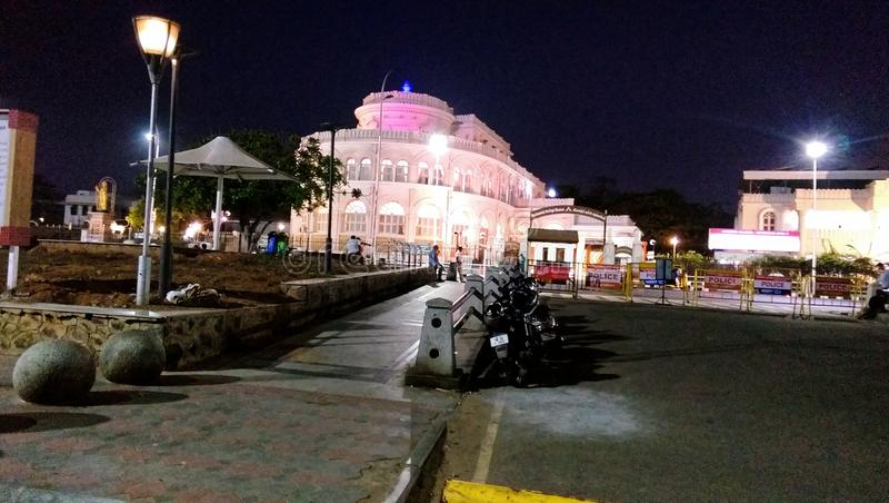 Marina Beach Chennai, Tamil Nadu, Indien arkivfoton