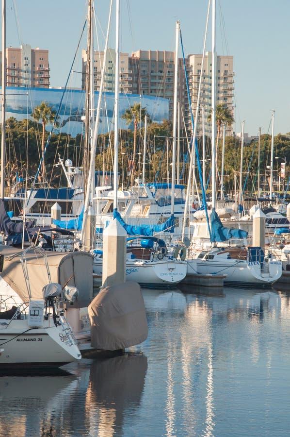 Marina Boats foto de stock royalty free