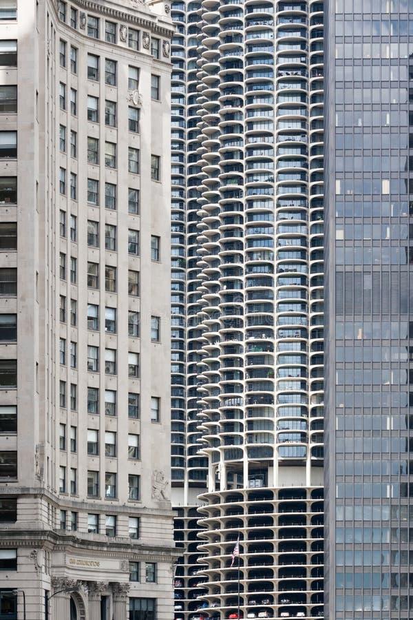 Marina City stock foto