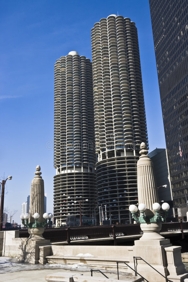 Free Marina City Royalty Free Stock Photography - 7839007
