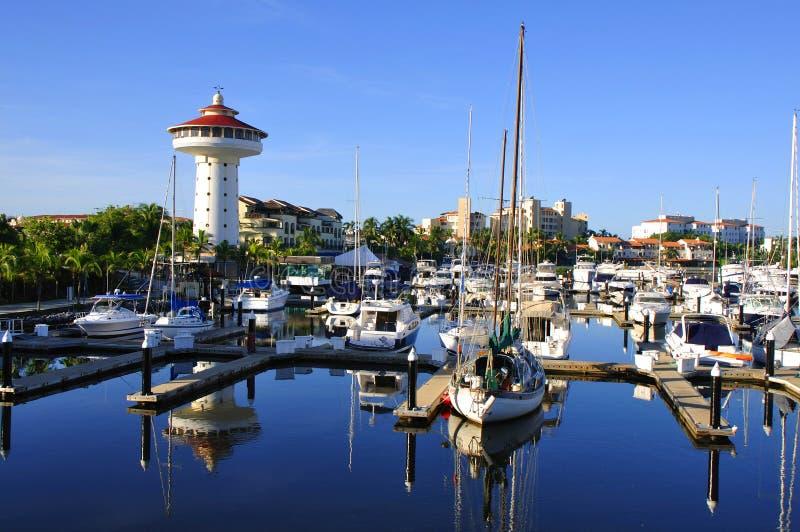 Marina d'Ixtapa image libre de droits