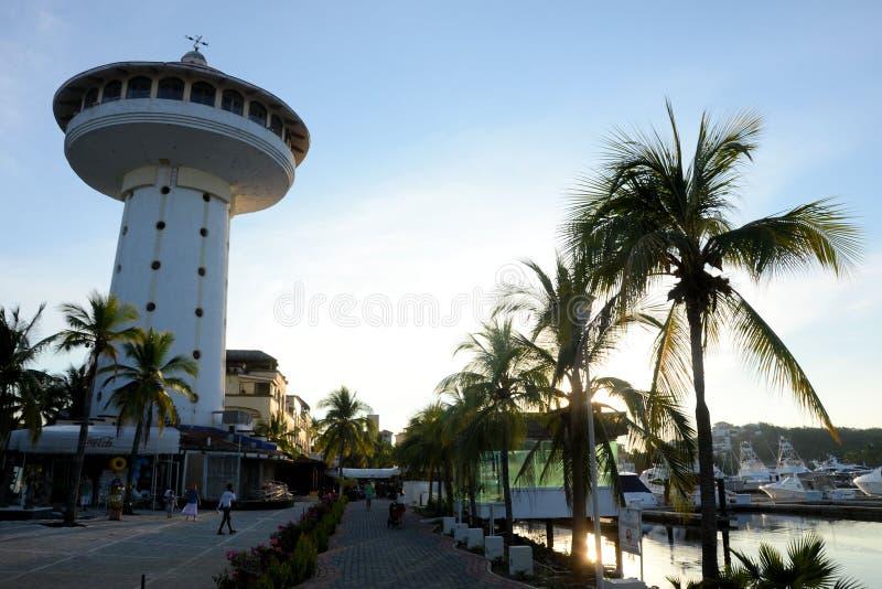 Marina d'Ixtapa photos libres de droits