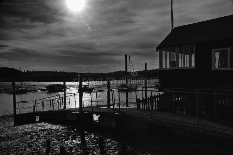 Marina de bord de mer photographie stock