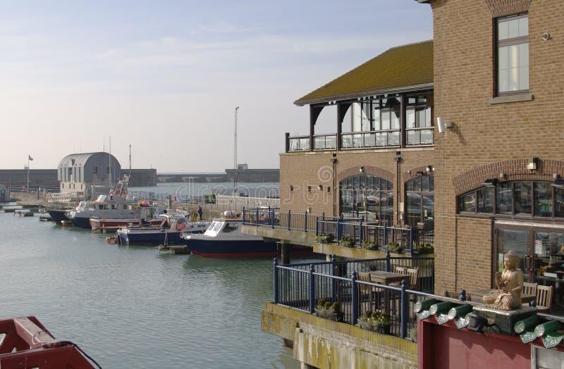 Marina de Brighton. Le Sussex est. l'Angleterre image libre de droits