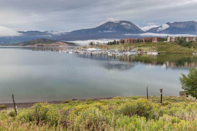 Marina de Dillon de lac images libres de droits