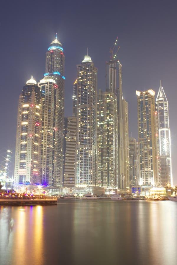 Marina de Dubaï photos libres de droits