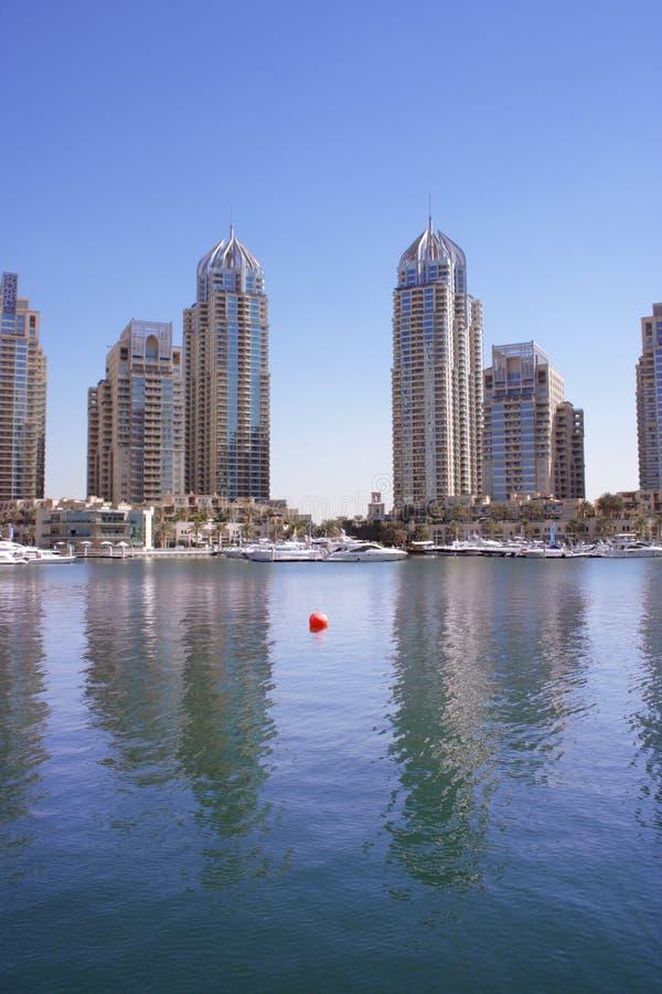 Marina de Dubaï, EAU photos stock