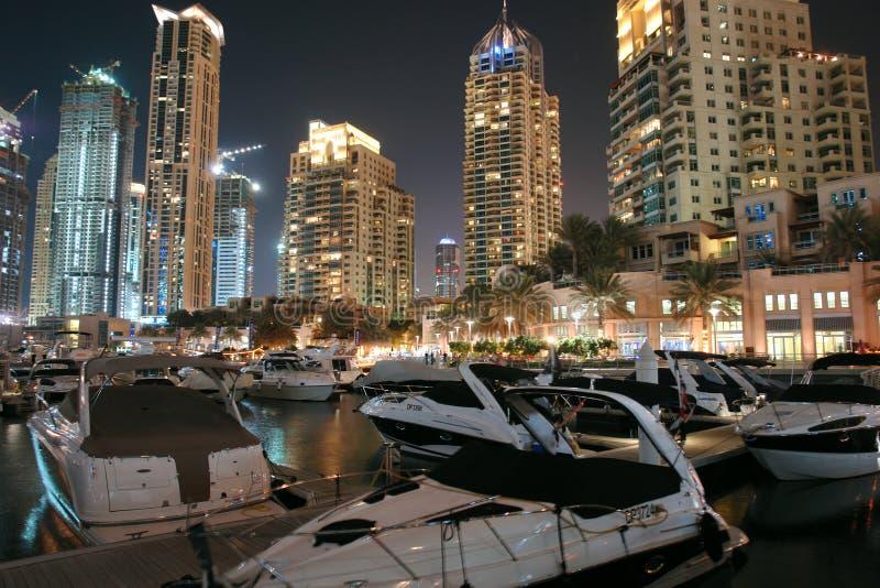 Marina de Dubaï, Emirats Arabes Unis #04 images libres de droits