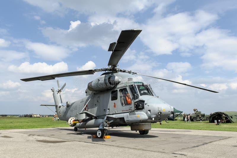 Marina de guerra estupenda del polaco de SH-2G Seasprite foto de archivo