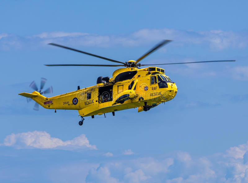 Marina de guerra real Sea King Helicopter imagen de archivo libre de regalías
