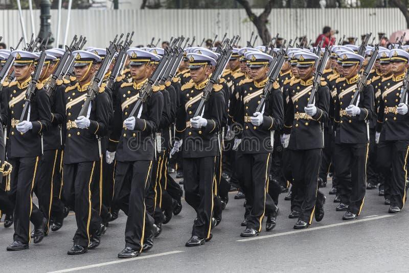 Marina de guerra real tailandesa de Tailandia imagen de archivo
