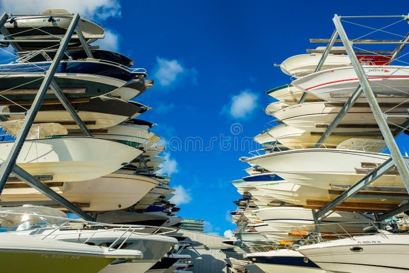 Marina de port de verger image stock