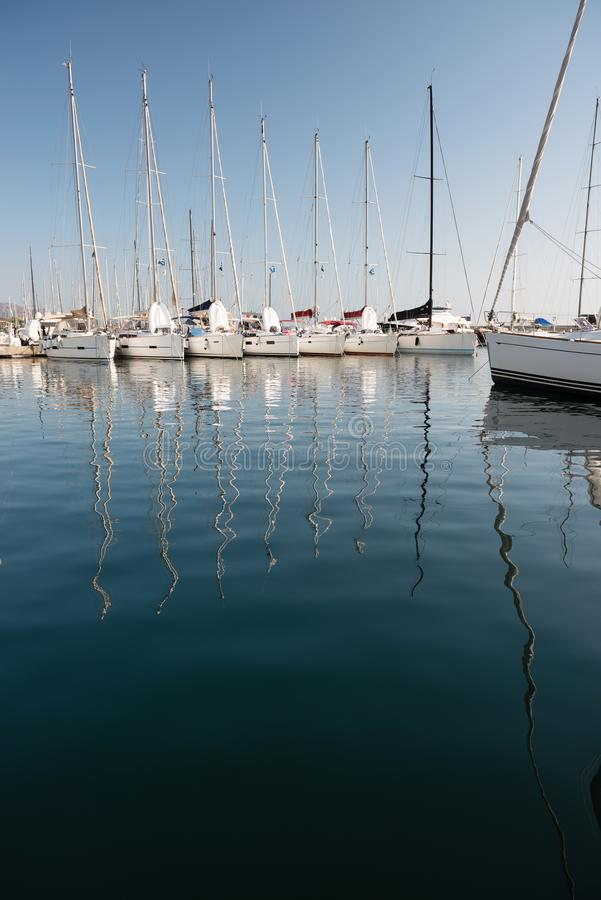 Marina de Portisco, Sardaigne images stock