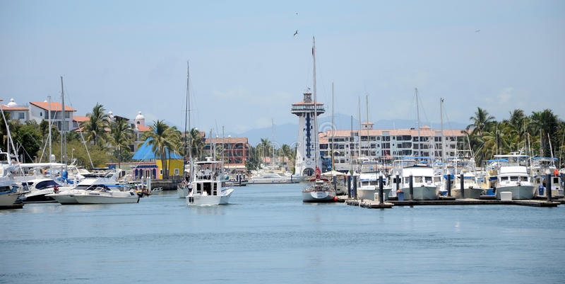 Marina de Puerto Vallarta photographie stock libre de droits