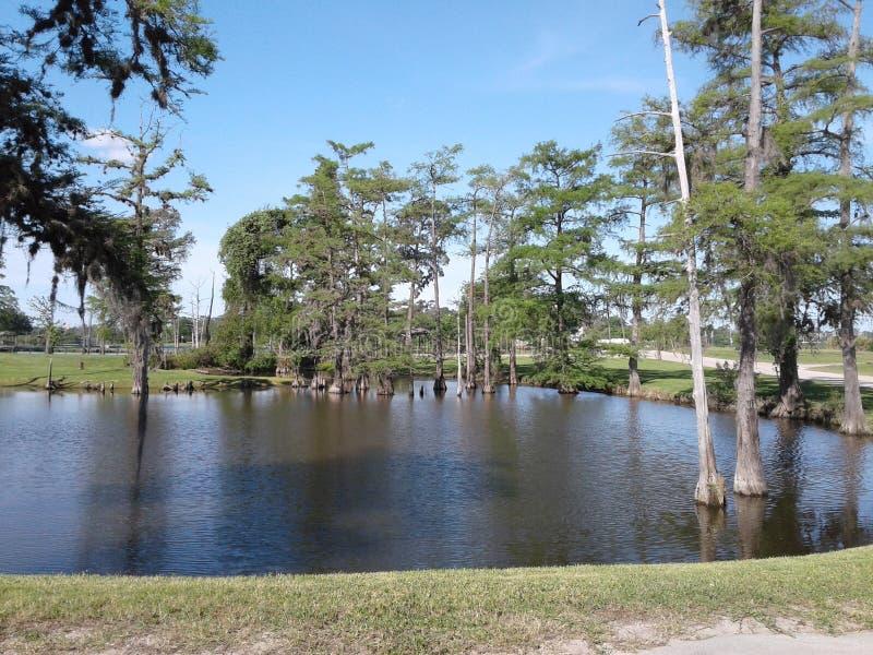 Marina de Riverbend dans Channelview le Texas photo libre de droits
