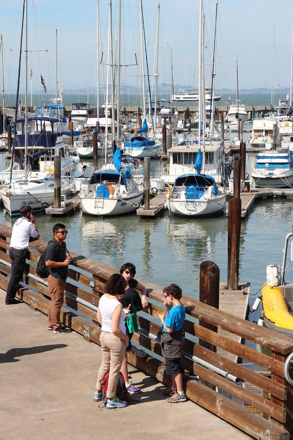 Marina de San Francisco photo libre de droits