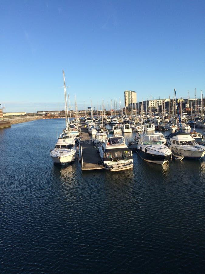 Marina de Swansea photo stock
