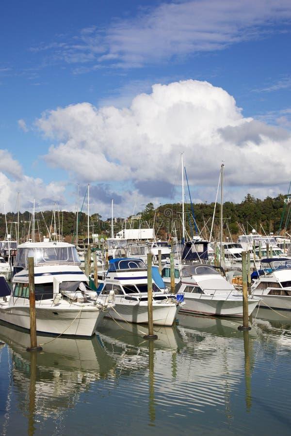 Marina de Tutukaka photos stock