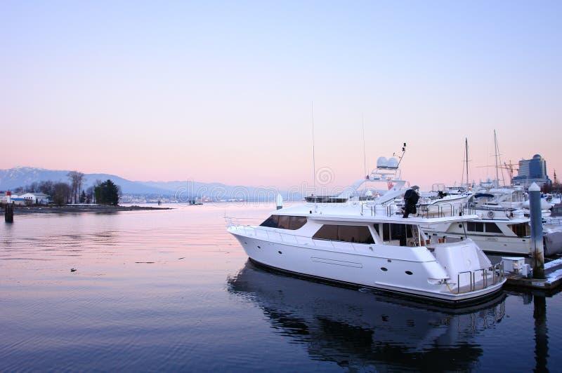 Marina de Vancouver photographie stock libre de droits