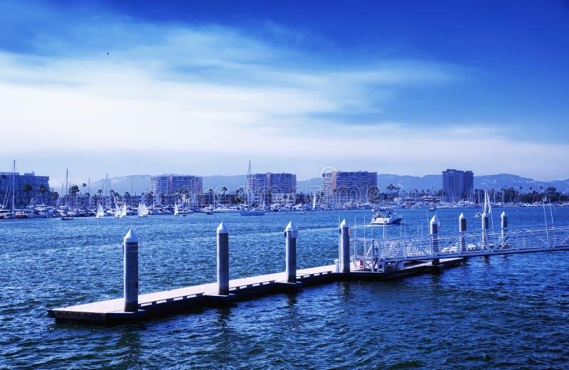 Marina del Rey California fotografía de archivo