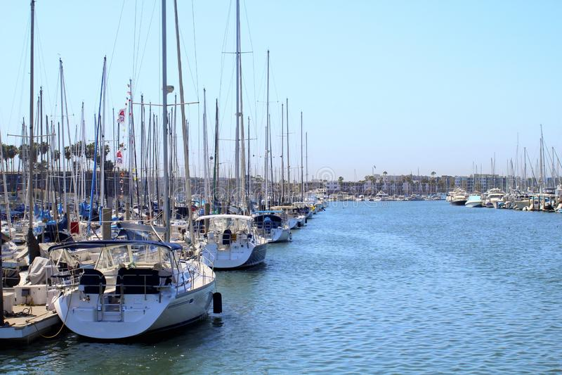 Marina del Rey California stock afbeeldingen
