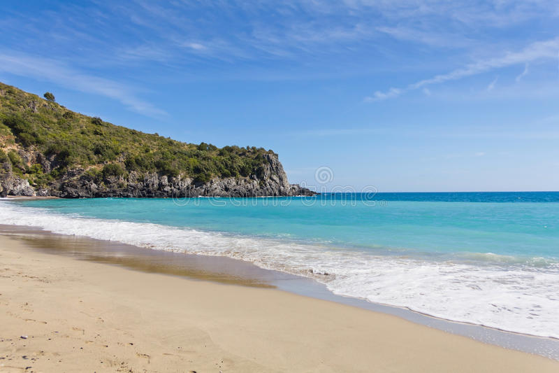 Marina di Camerota, Salerno, Itália fotos de stock royalty free