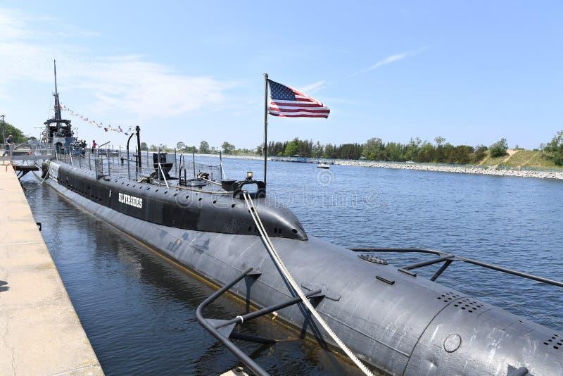 Marina di Stati Uniti USS sottomarino Silvesides fotografia stock