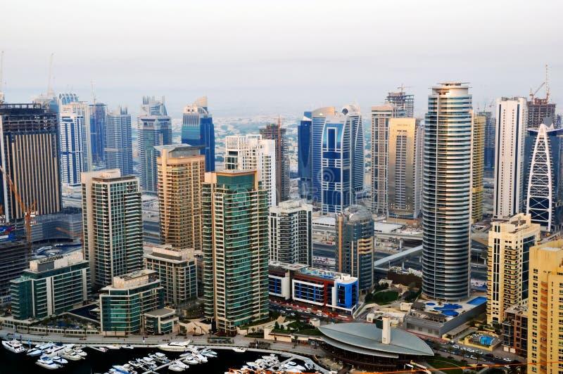 marina du Dubaï de constructions photos libres de droits