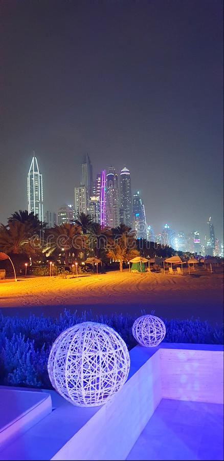 Marina Dubai stock foto's