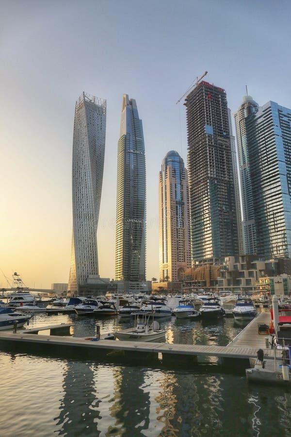 Marina Dubai image libre de droits