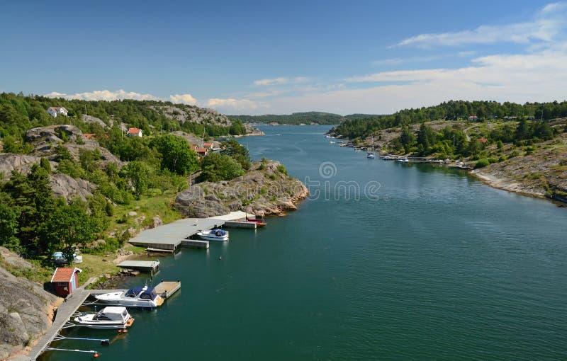 Download Marina Fjord Summer Landscape Stock Photo - Image: 25607364