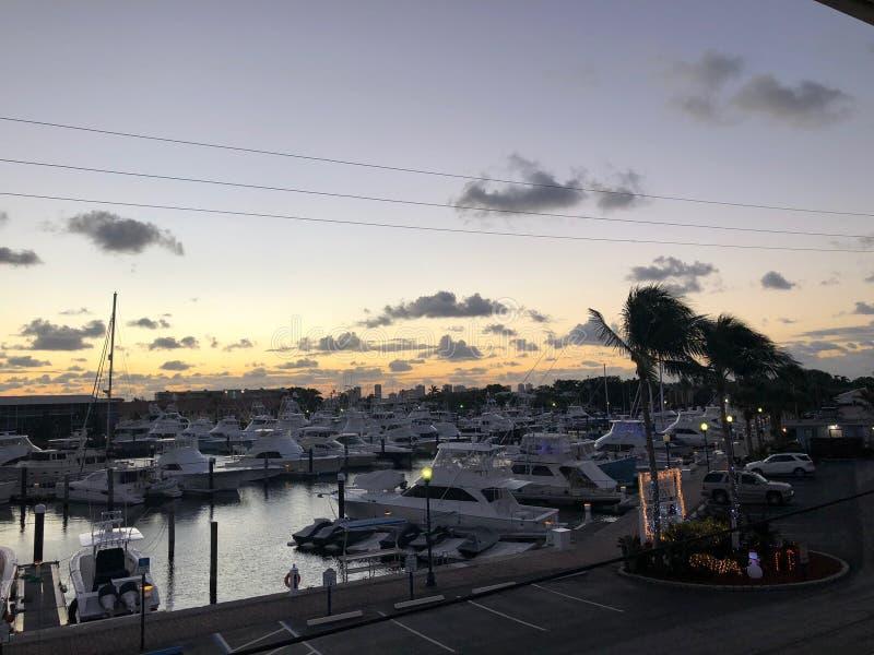 Marina Florida USA royalty free stock photography