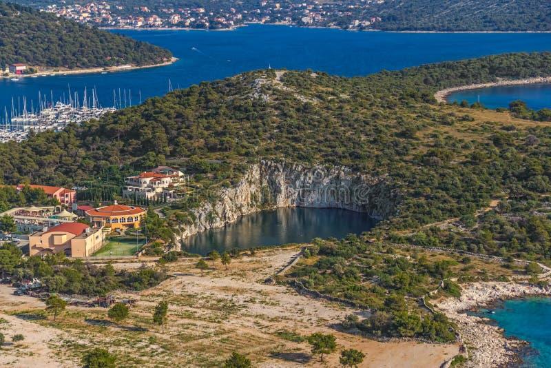 Marina Frapa jezioro obrazy stock