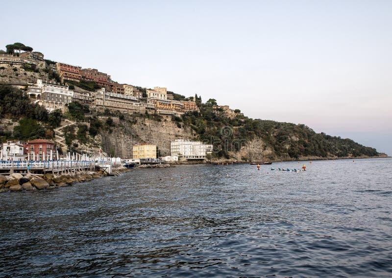 Marina Grande, aldeia piscatória em Sorrento, Itália foto de stock royalty free