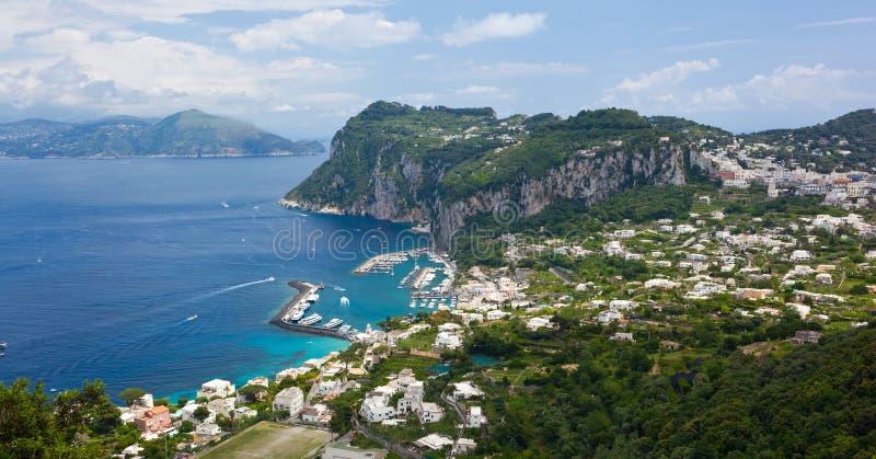 Marina Grande, Capri-Insel, Italien stockfotografie