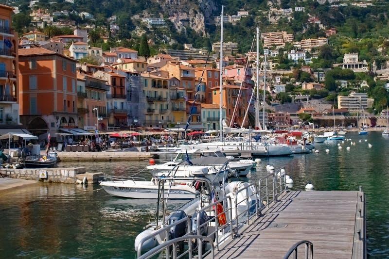 Marina i trevliga Frankrike royaltyfria bilder