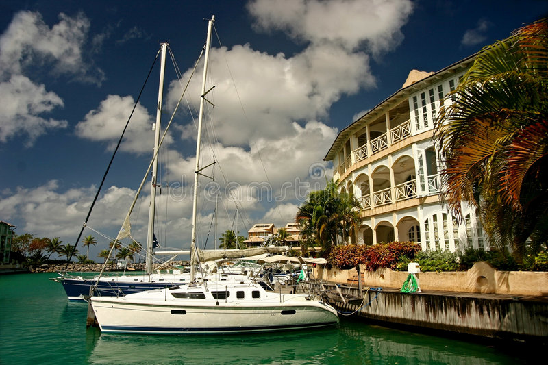 marina jacht obraz royalty free