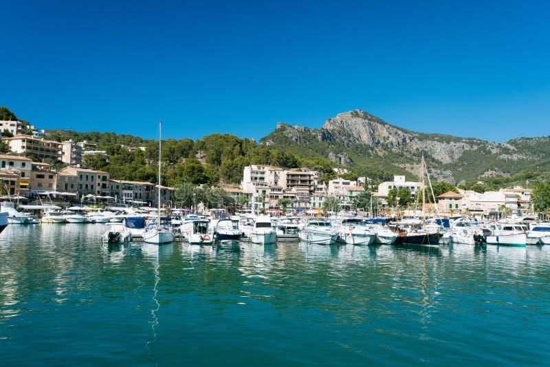 Marina At Majorca Balearic Islands Royalty Free Stock Photos