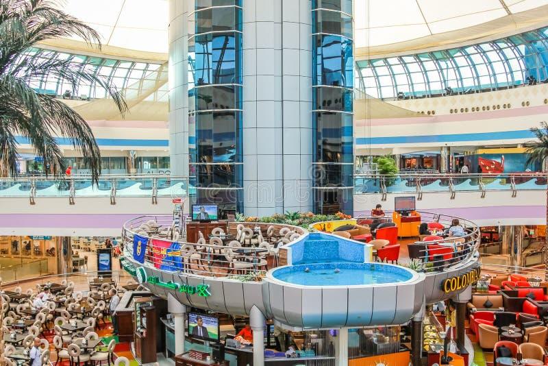 Marina Mall Abu Dhabi fotografie stock