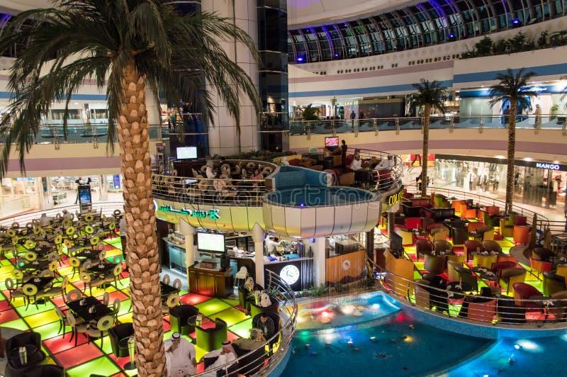 Marina Mall in Abu Dhabi stock photos